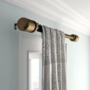 french pipe rod curtain hardware