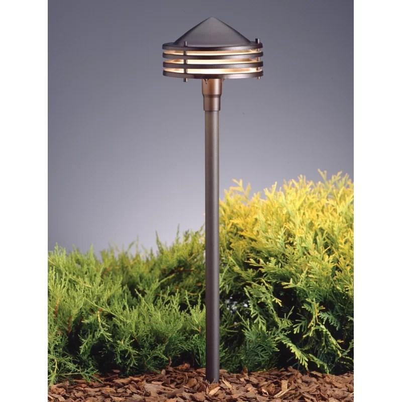 architectural bronze low voltage hardwired configurable landscape lighting kit