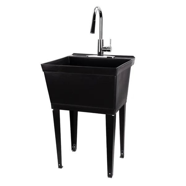 galvanized wash tub sink