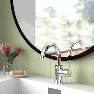 modern industrial bathroom sink faucets