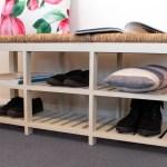 August Grove Hallway 6 Pair Shoe Storage Bench Wayfair Co Uk