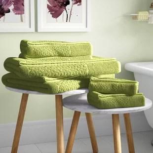 treyton 6 piece turkish cotton towel set
