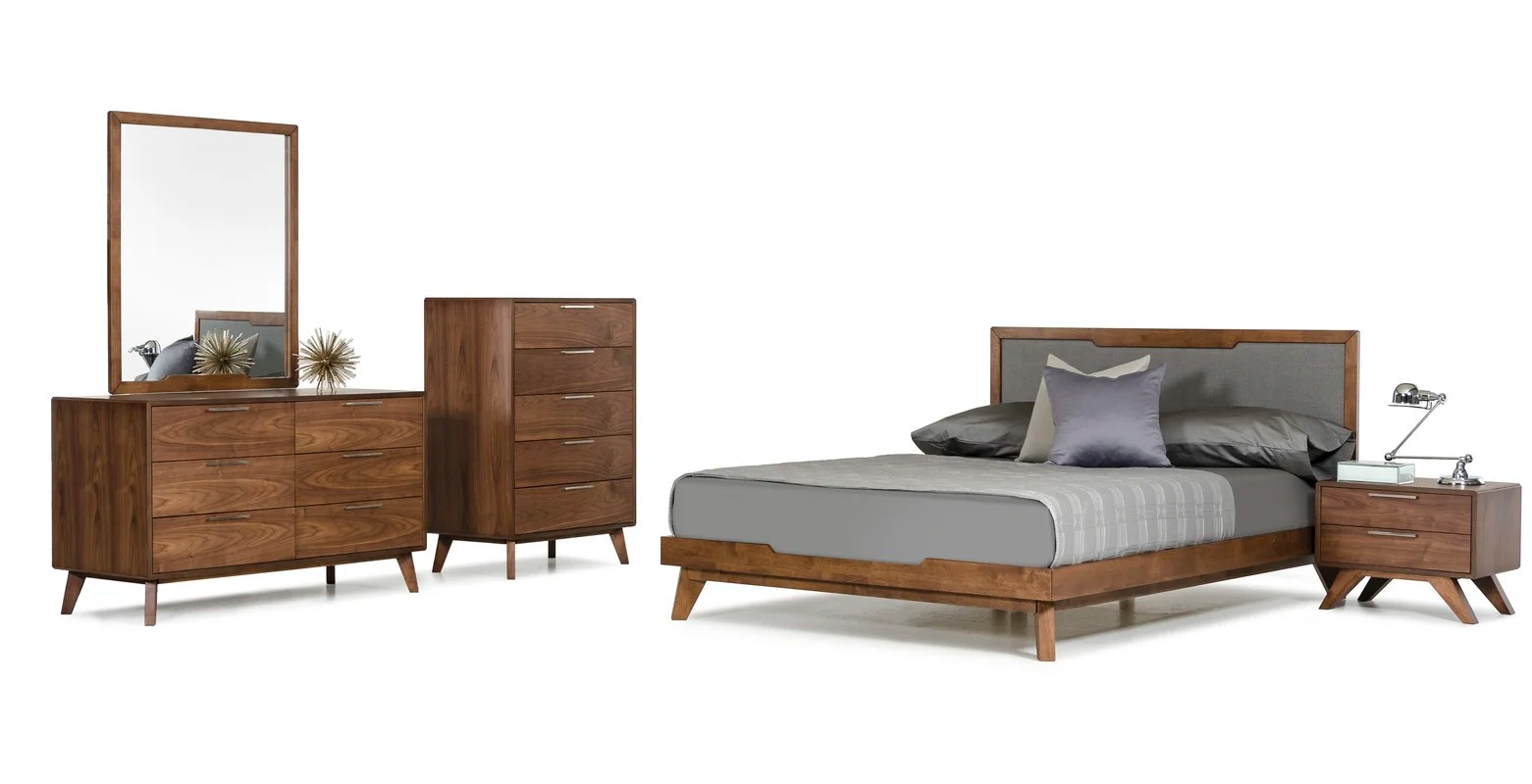 langley street hali platform 5 piece bedroom set & reviews | wayfair
