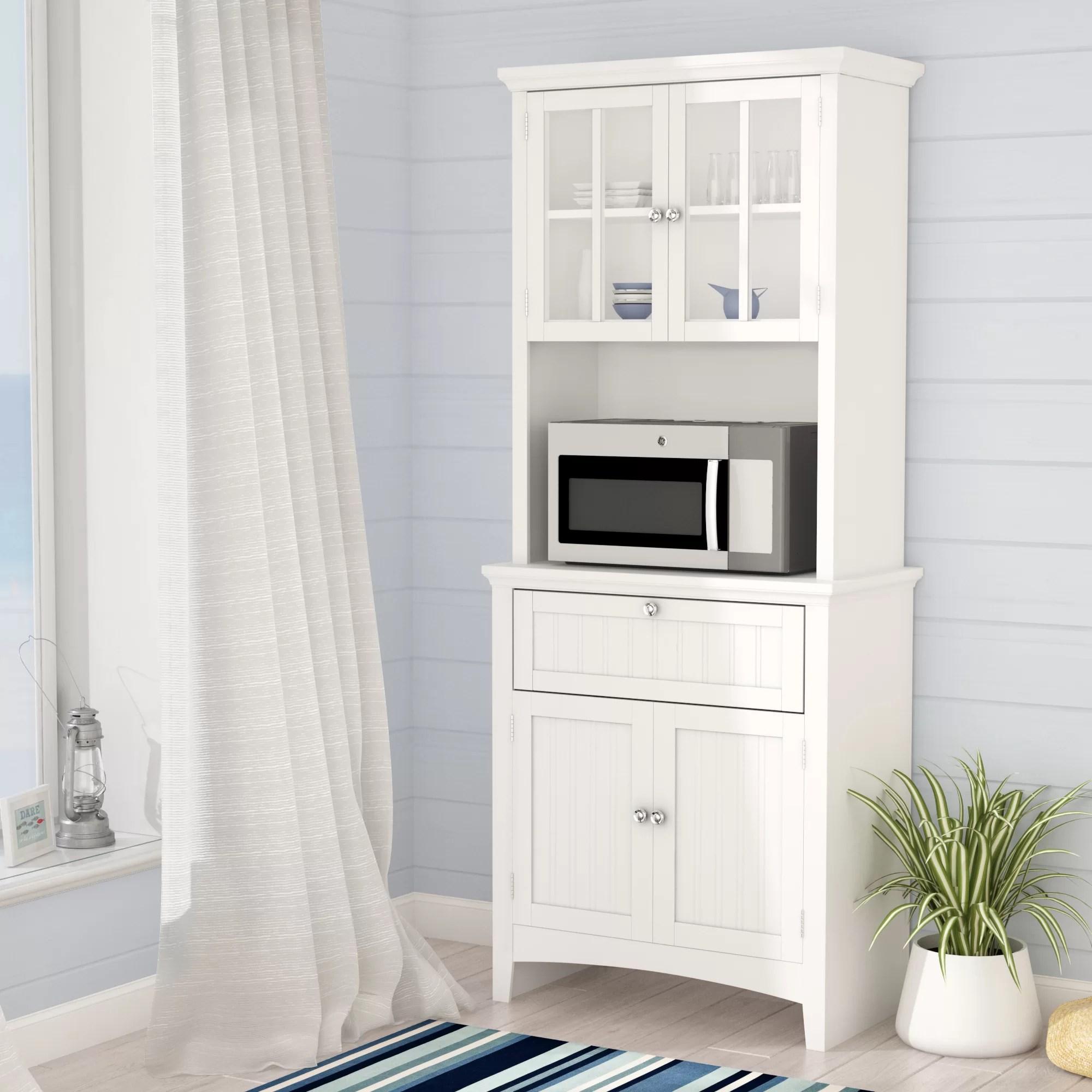 large microwave carts food pantries