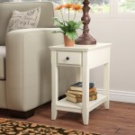 End Side Tables With Drawers