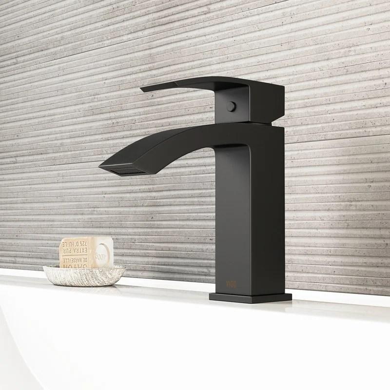satro single hole bathroom faucet