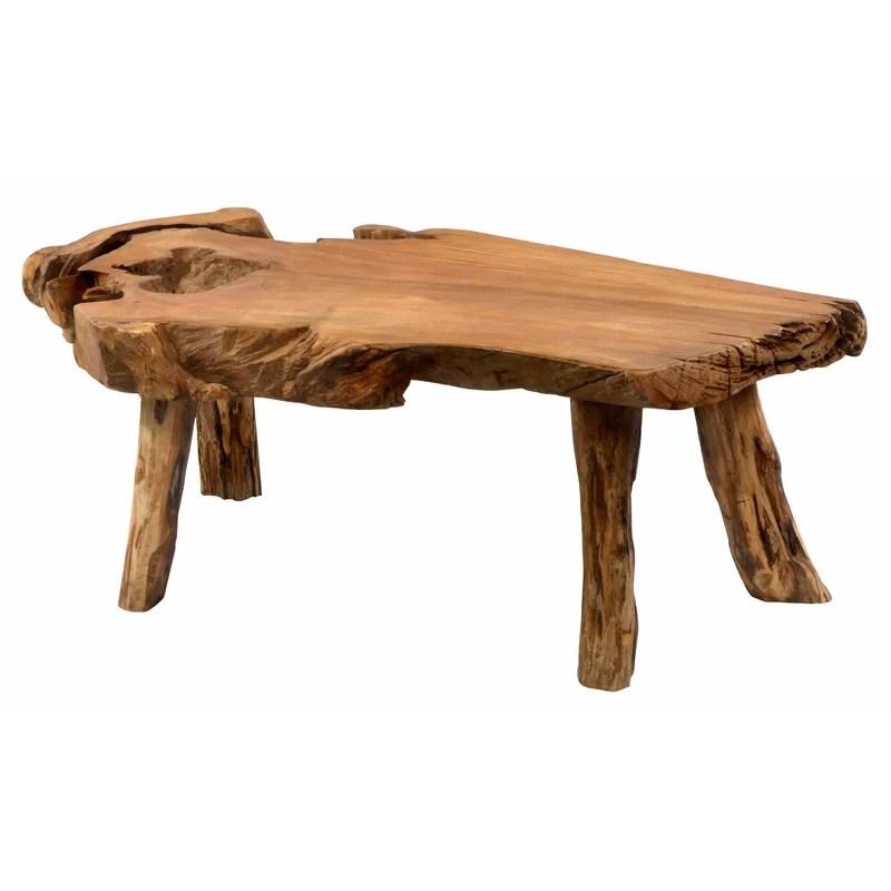zirkel solid wood coffee table