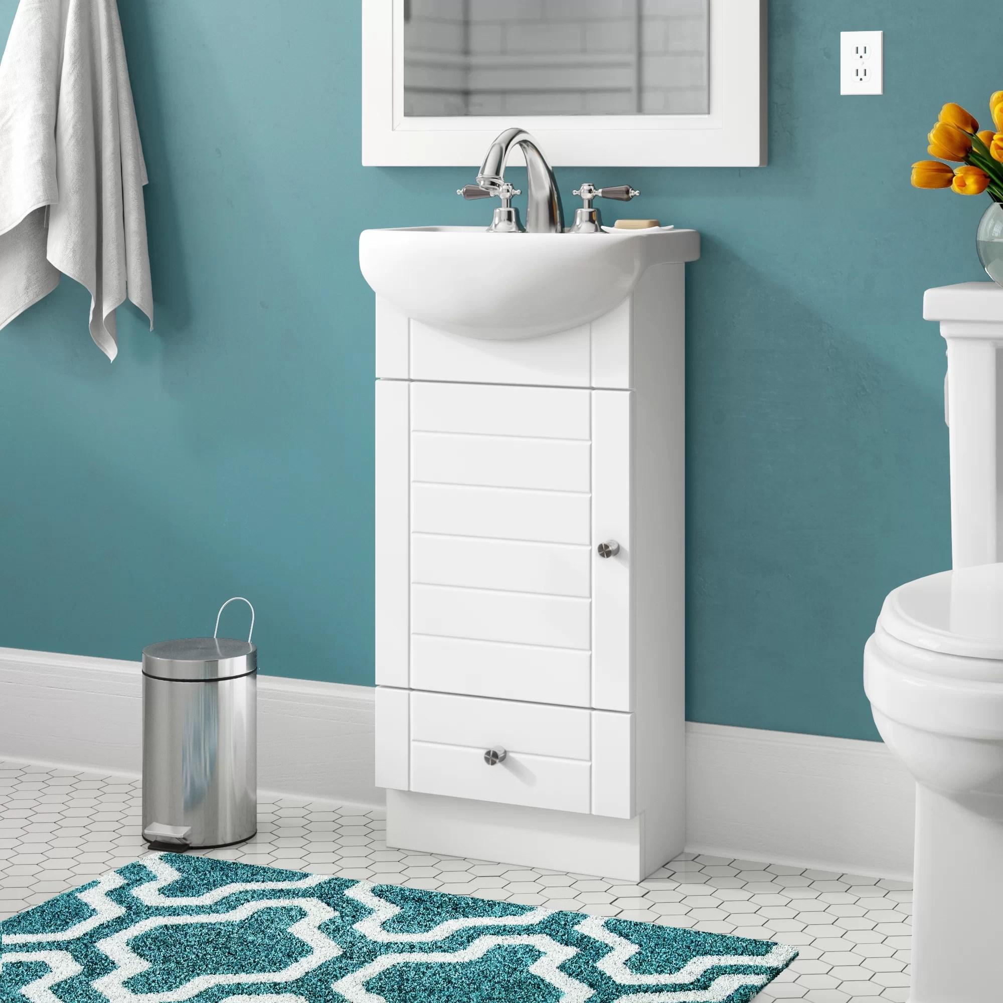 melstone 17 single bathroom vanity set