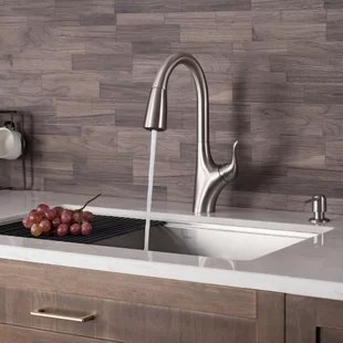 merlin stainless steel pull down touch single handle kitchen faucet