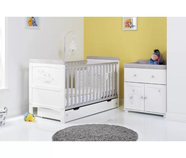 Disney Winnie The Pooh Dreams Wishes 2 Piece Nursery Furniture Set