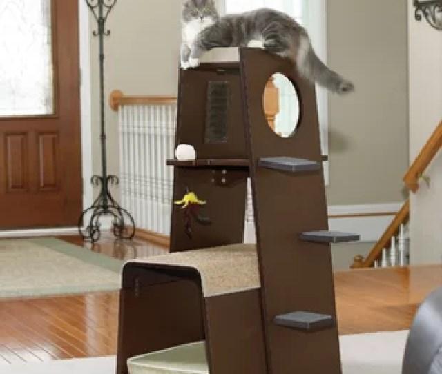 Hennessy  Modular Modern Cat Tree