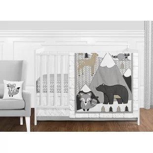 woodland friends 11 piece crib bedding set