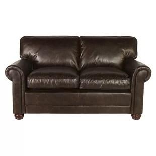 Genesis Leather Loveseat