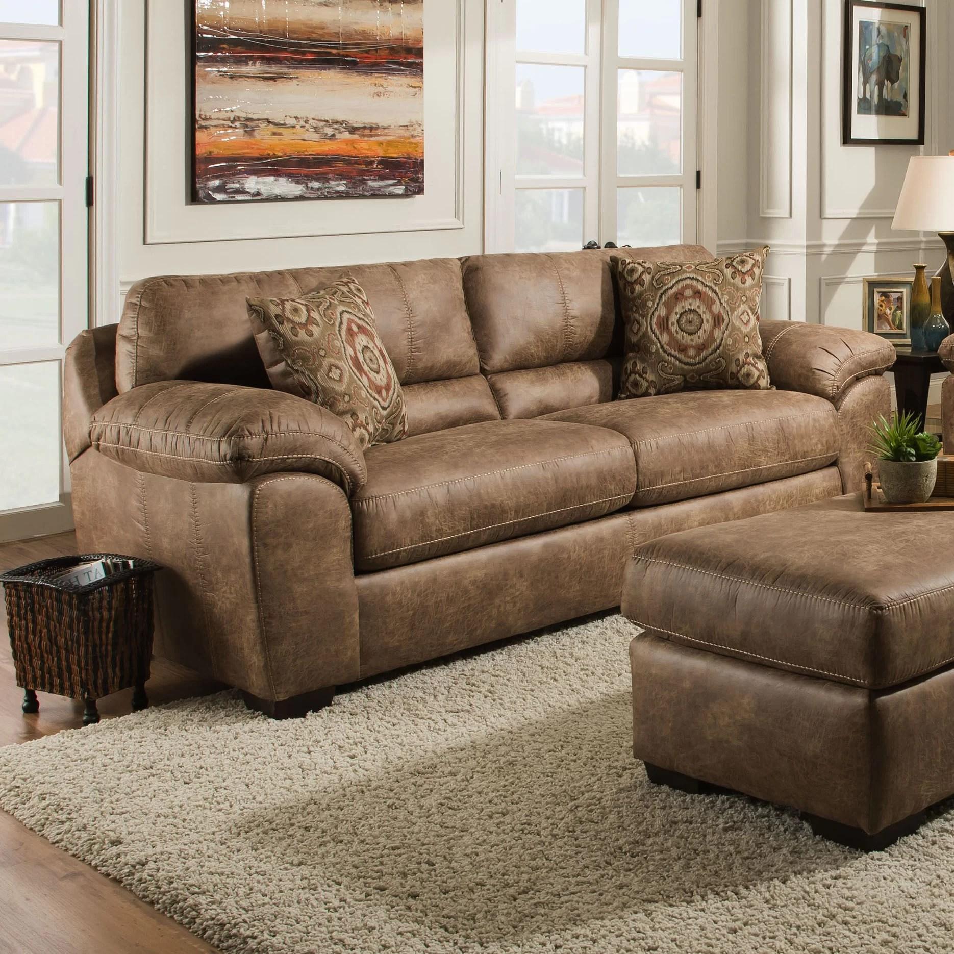 ace 92 pillow top arm sofa