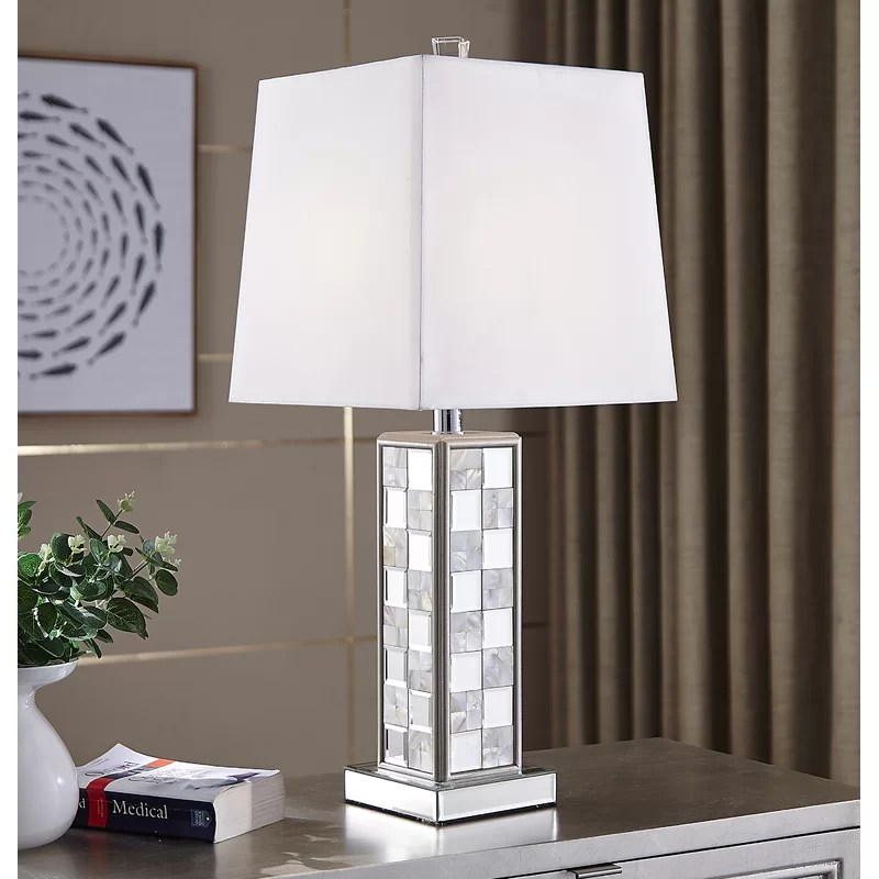 wayfair silver table lamps online