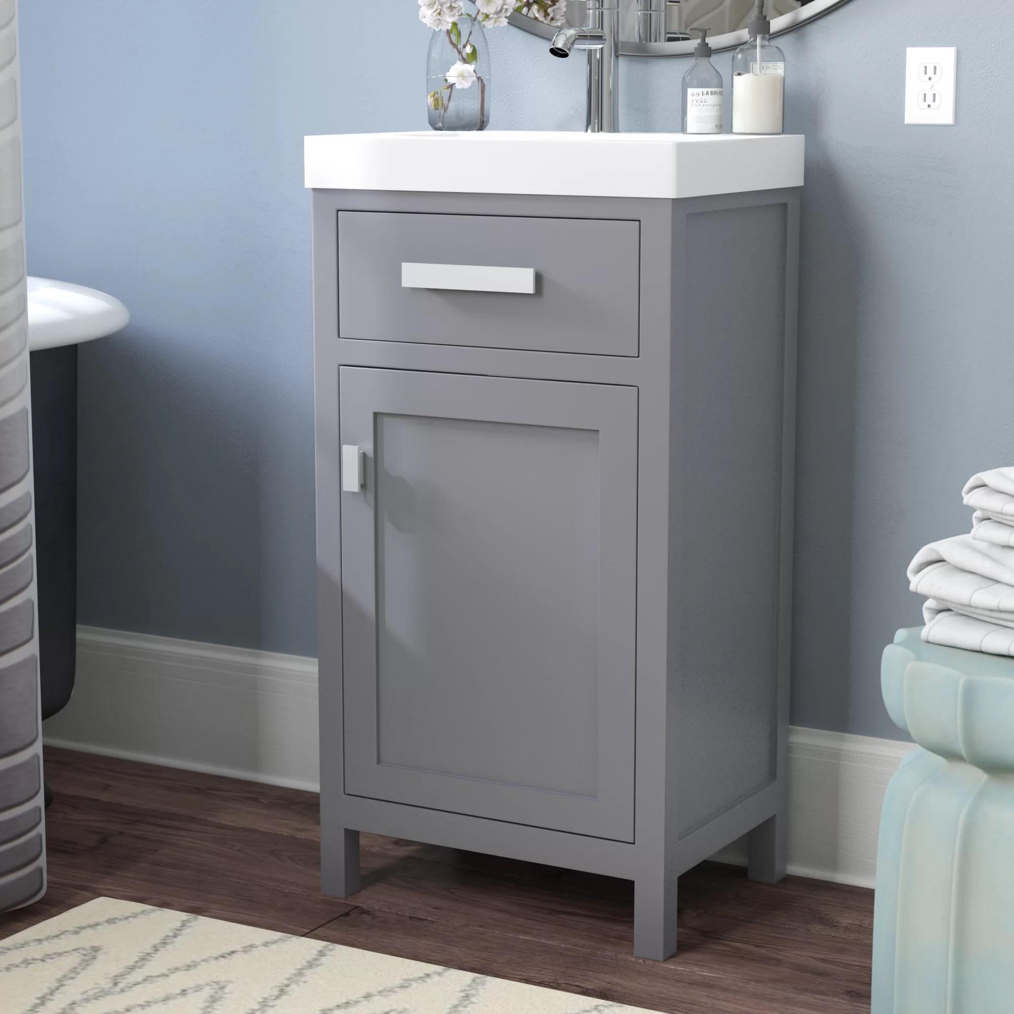 zipcode design knighten 17 3 single bathroom vanity set reviews wayfair