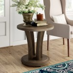 Eve Solid Wood Pedestal End Table Reviews