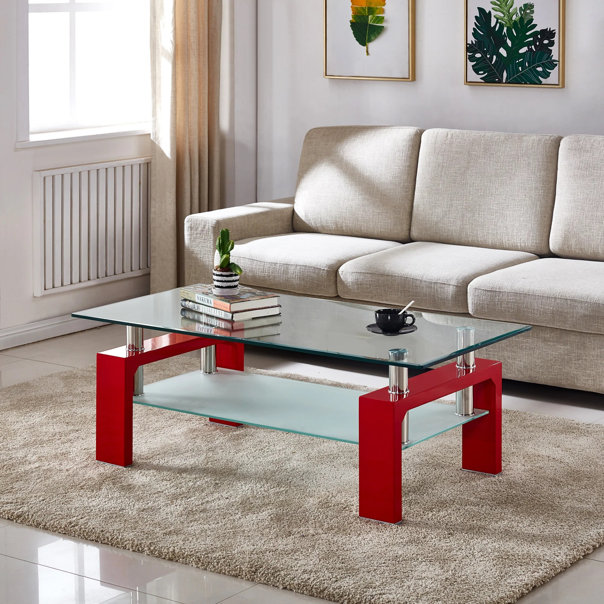 red coffee tables you ll love in 2021