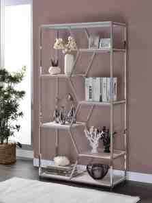 Pateros Geometric Bookcase