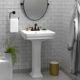 compact pedestal sink wayfair