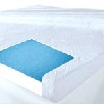 3 All Size Gel Foam Memory Mattress Topper Pad 5 Zone Firm Back Support Loft Beds Mattresses Furniture