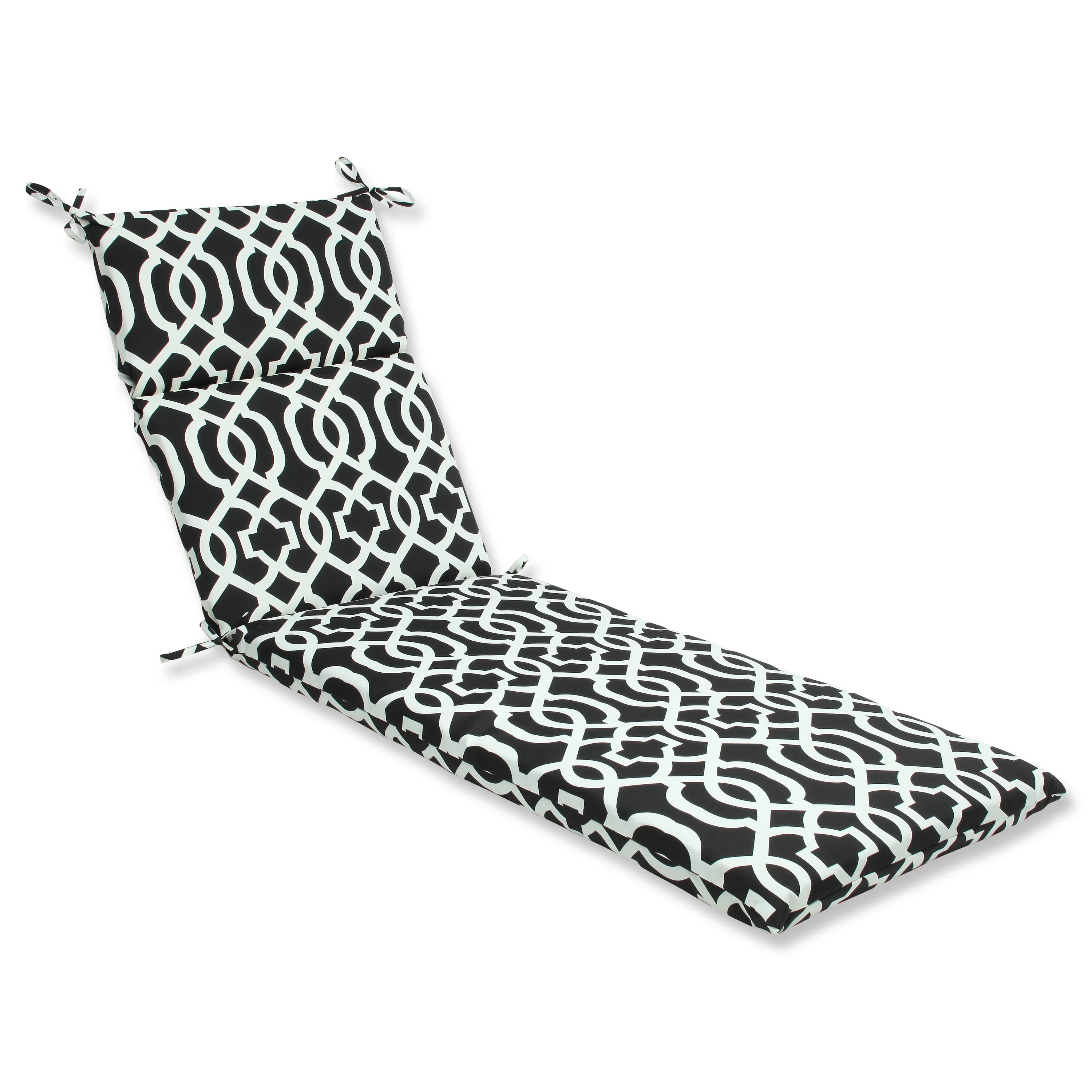Pillow Perfect New Geo Indoor Outdoor Chaise Lounge