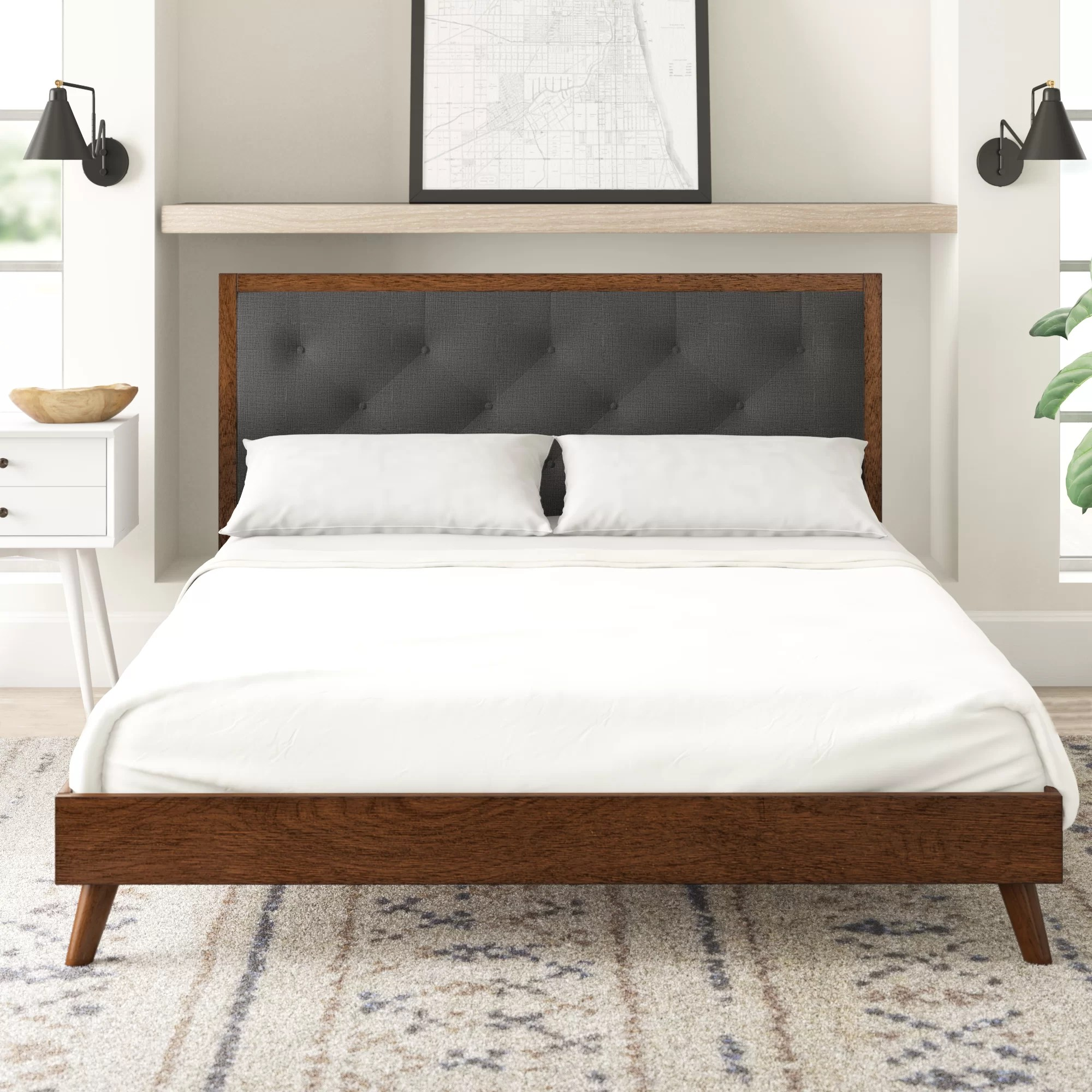 Koda Upholstered Platform Bed Reviews