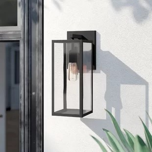 contemporary outdoor wall lighting