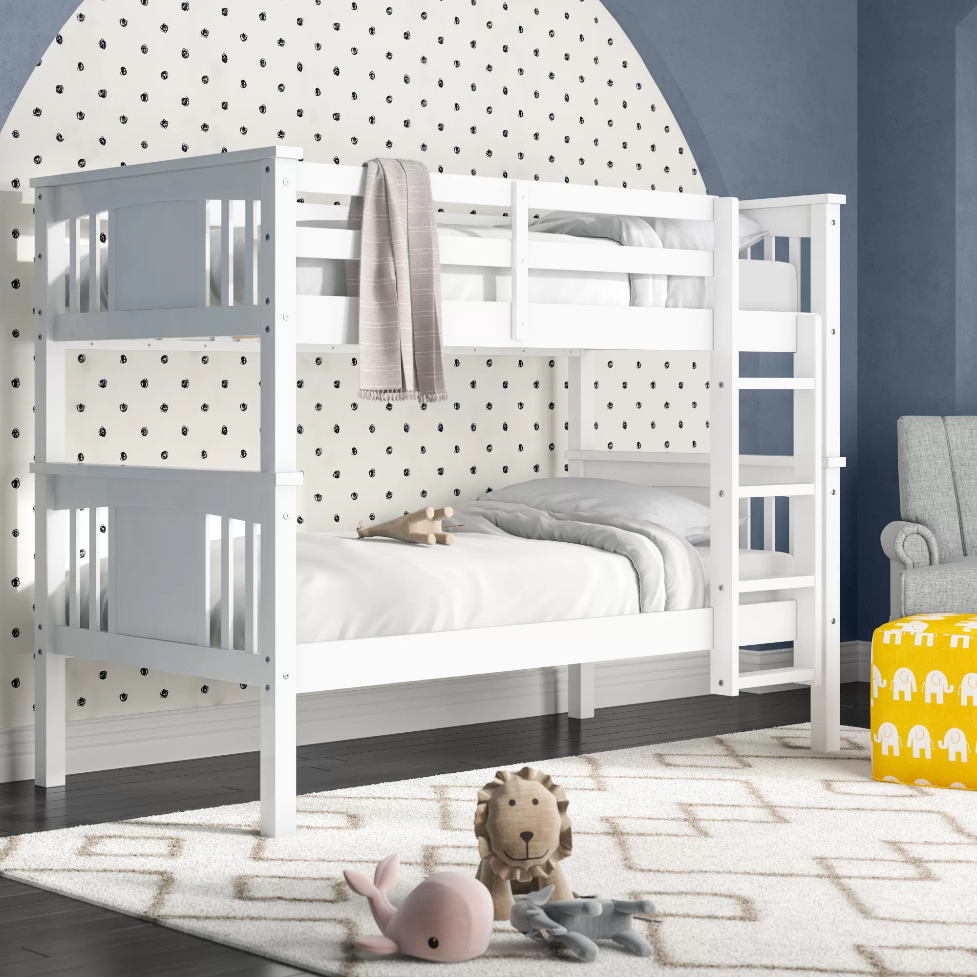 Viv Rae Alimi Twin Over Twin Bunk Bed Reviews