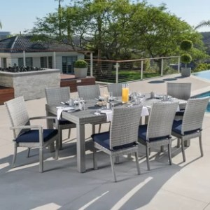 Eight Person Patio Dining Sets You ll Love   Wayfair Eight Person Patio Dining Sets