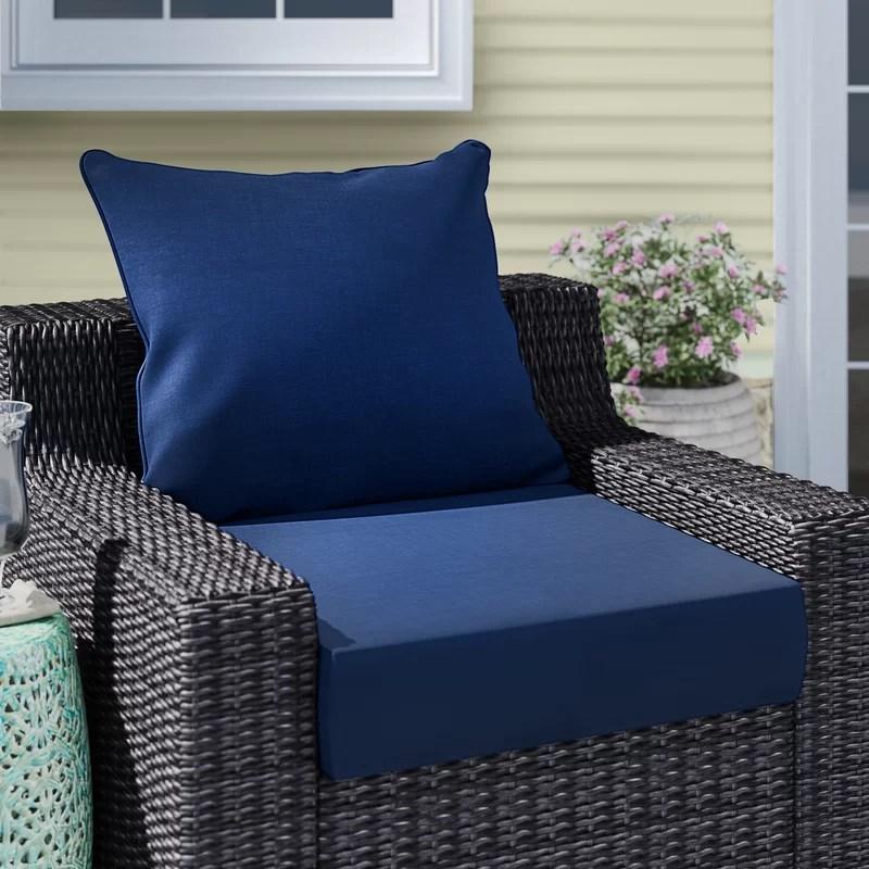 leala texture outdoor seat back cushion