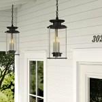 Birch Lane Kozak 3 Bulb 20 25 H Outdoor Hanging Lantern Reviews
