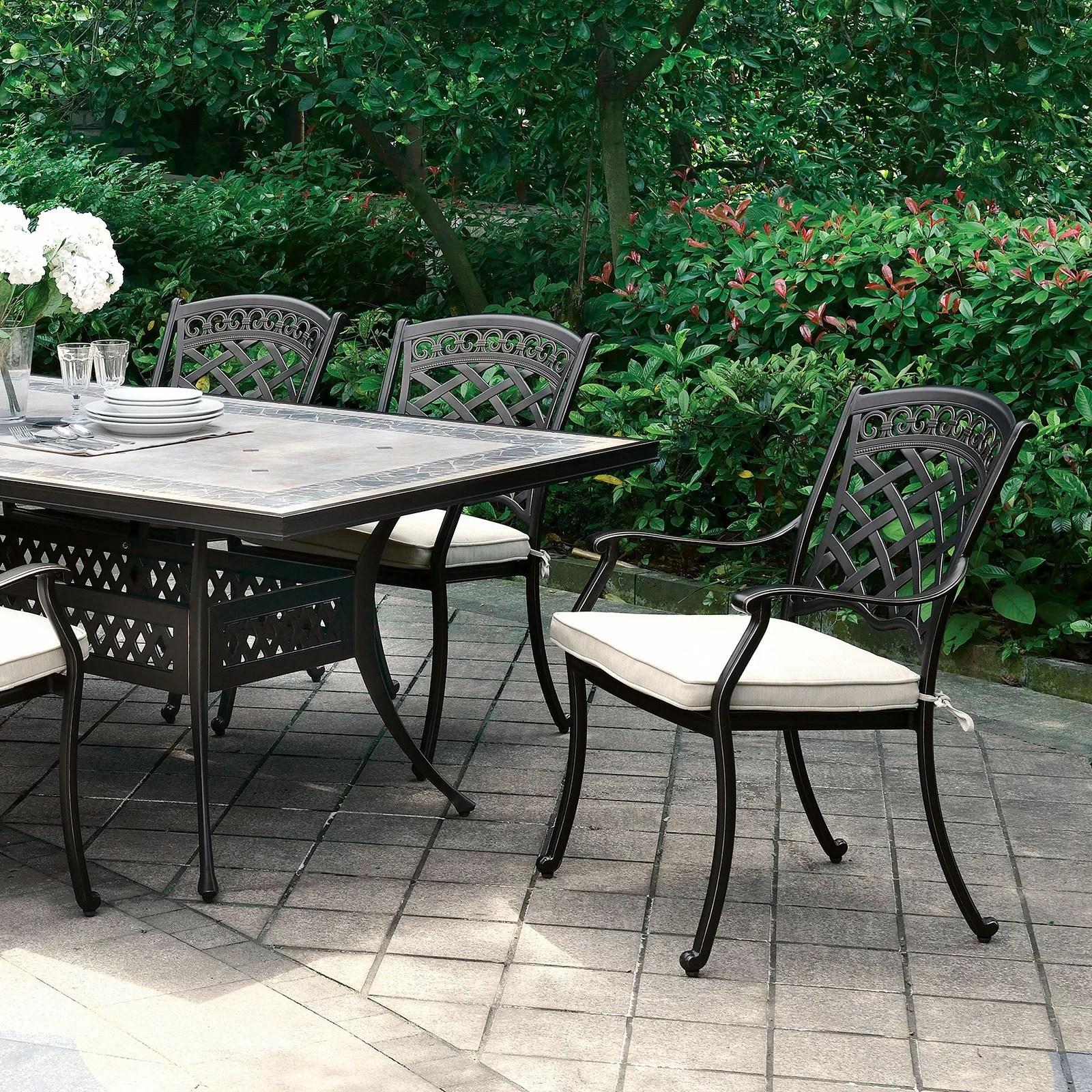 vogt stone concrete dining table