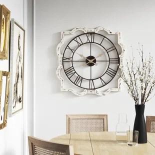 oversized gabie 32 wall clock