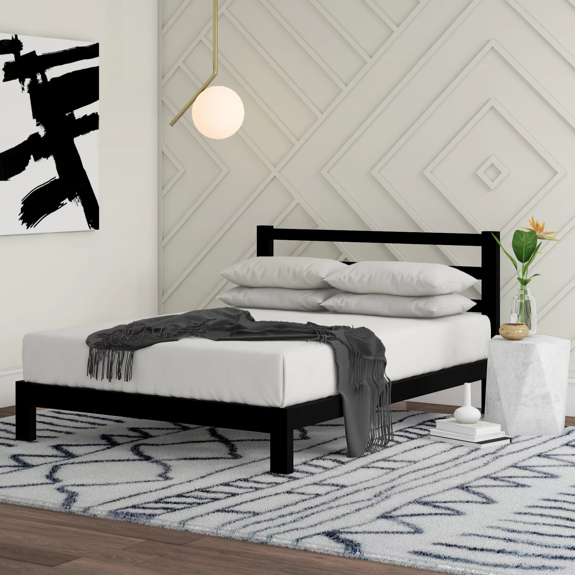 wood metal beds you ll love in 2021