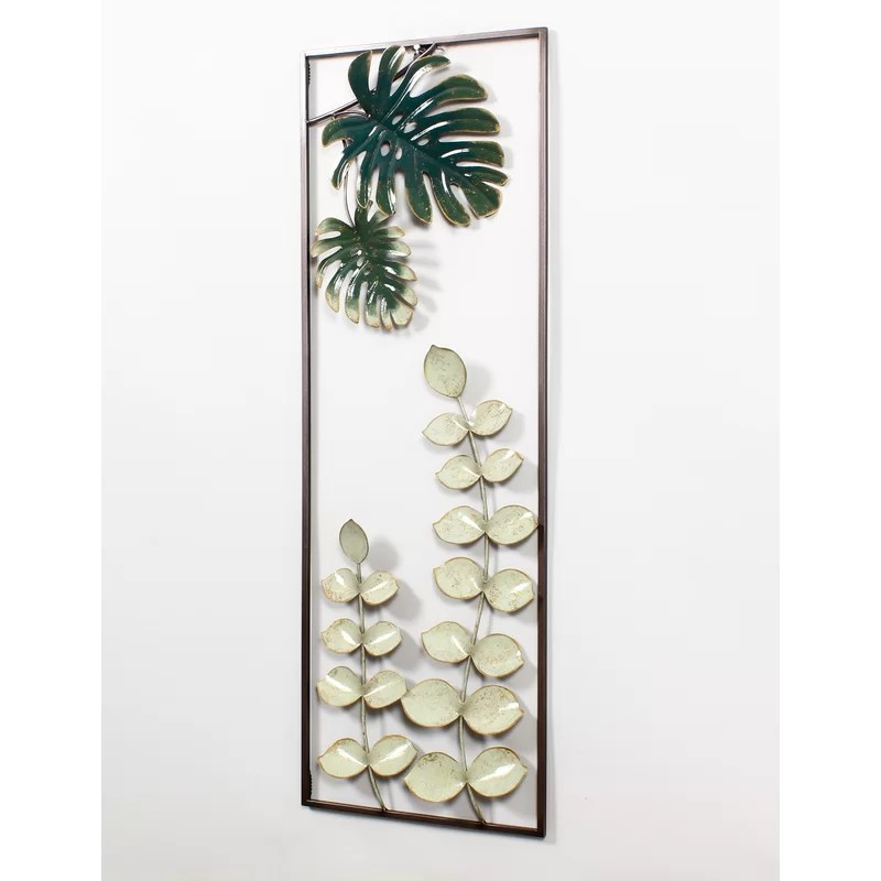 Bay Isle Home Leafy Plants Wall Décor | Wayfair on Wall Sconces For Greenery Decoration id=70245