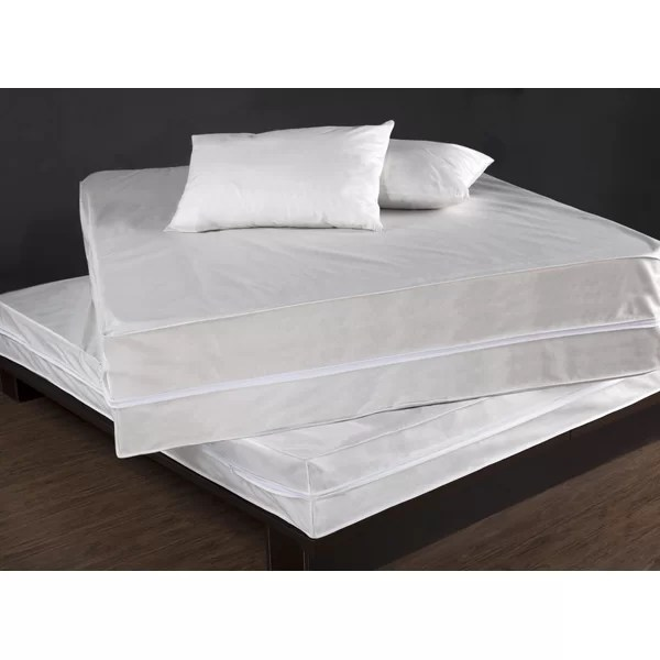 Permashield Bed Bug Dust Mite Control Complete Hypoallergenic Waterproof Mattress Protector Set Reviews Wayfair
