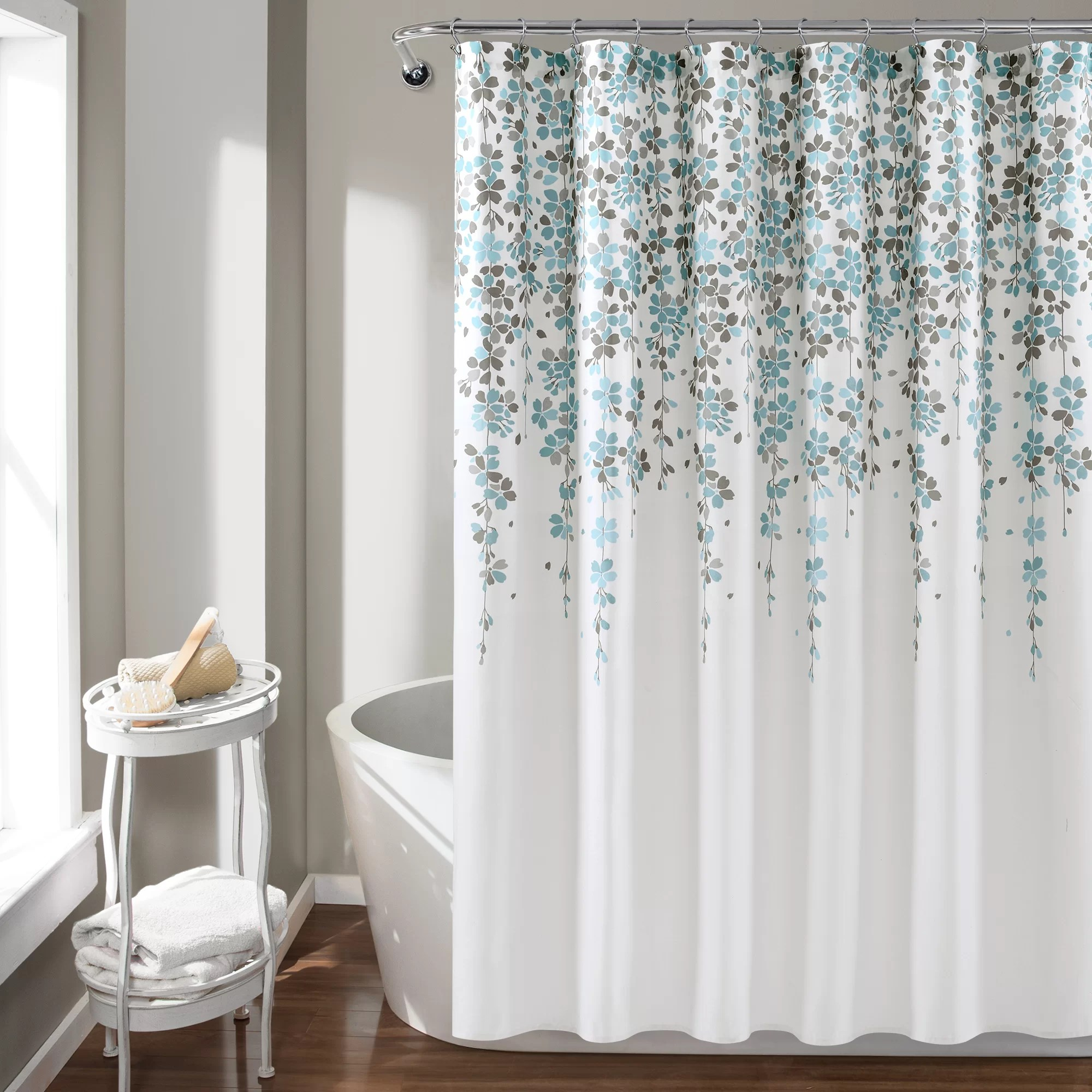 floral shower curtains shower liners