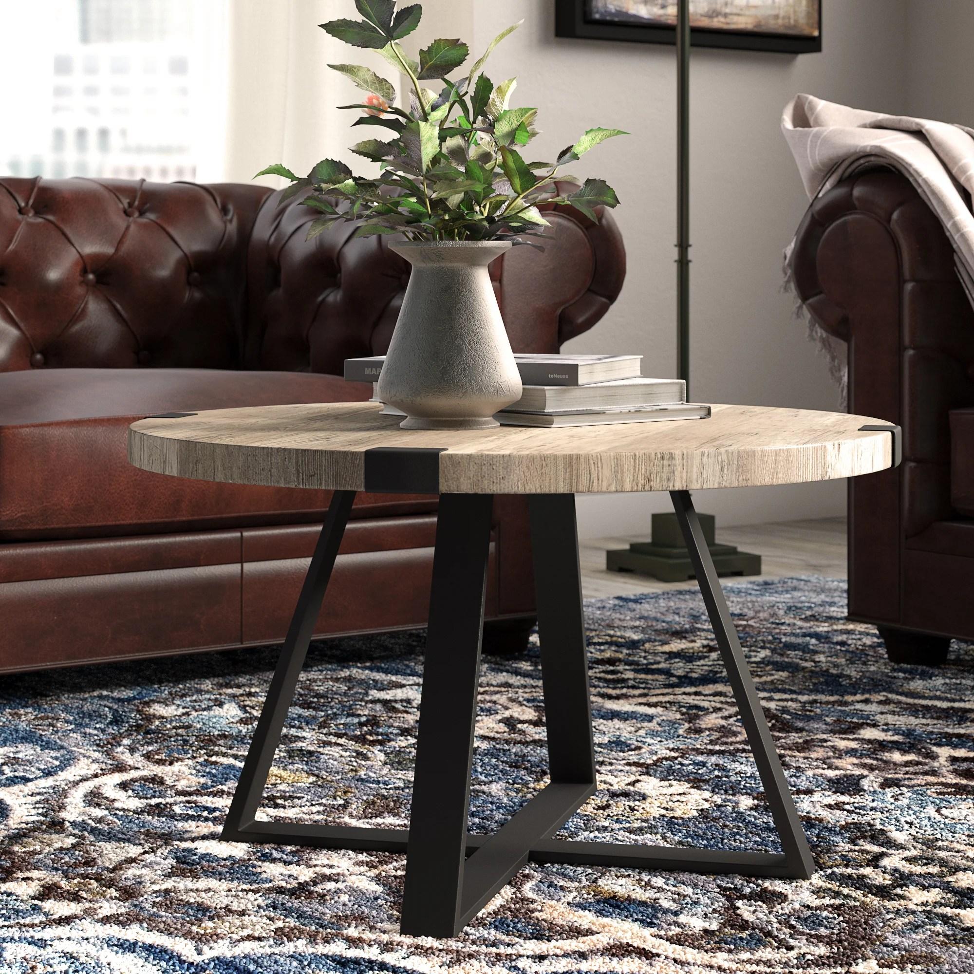 metal coffee table legs wayfair