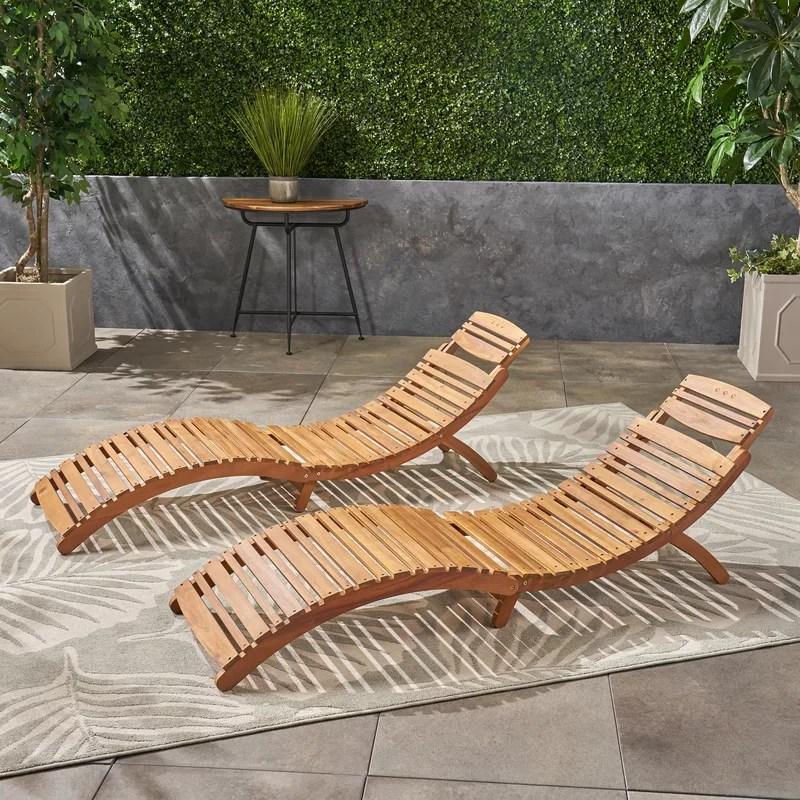 nannette 70 25 long chaise lounge set