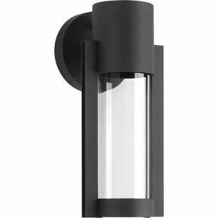 modern glass outdoor wall lights