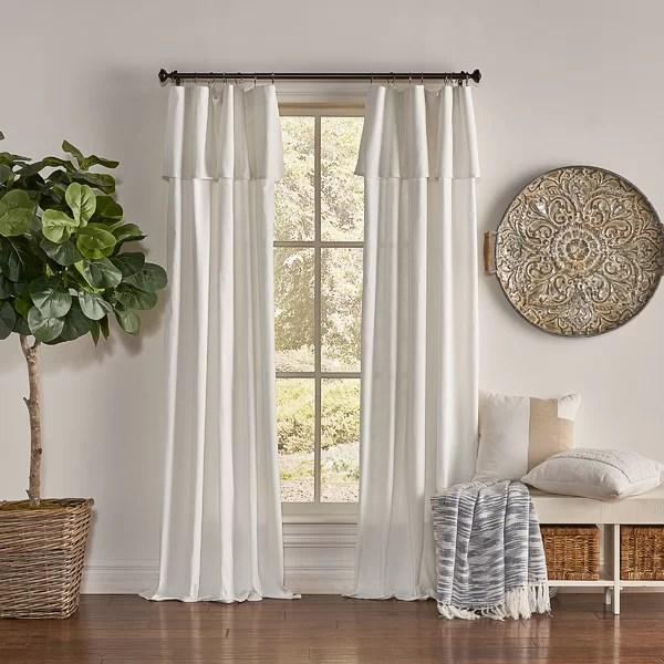 vintage farmhouse curtains