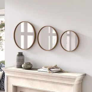 alexio 3 piece bourdreaux beveled mirror set