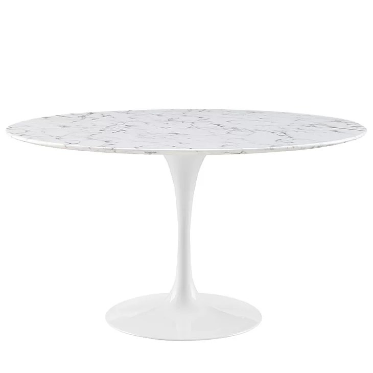 Dining Table Round Small Ottoman