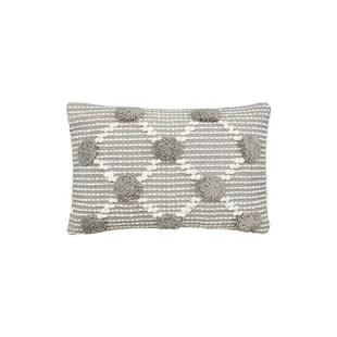 bolster gray silver throw pillows you