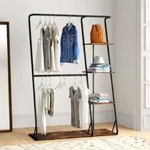 https www wayfair com storage organization sb1 metal clothes racks garment racks c1833564 a144195 458505 html