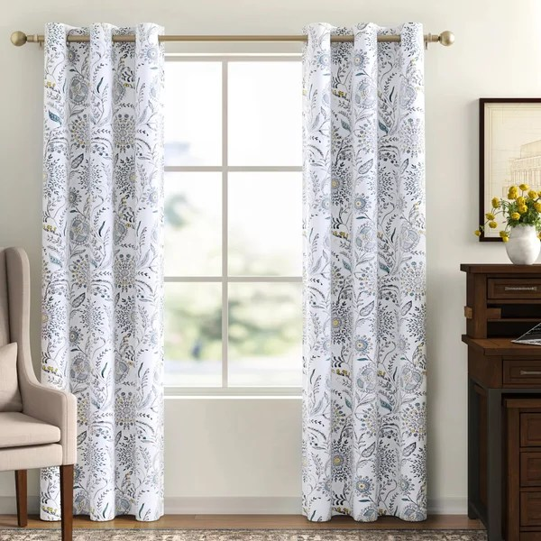pattern curtains