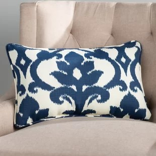 edmond corded outdoor rectangular pillow cover insert set of 2