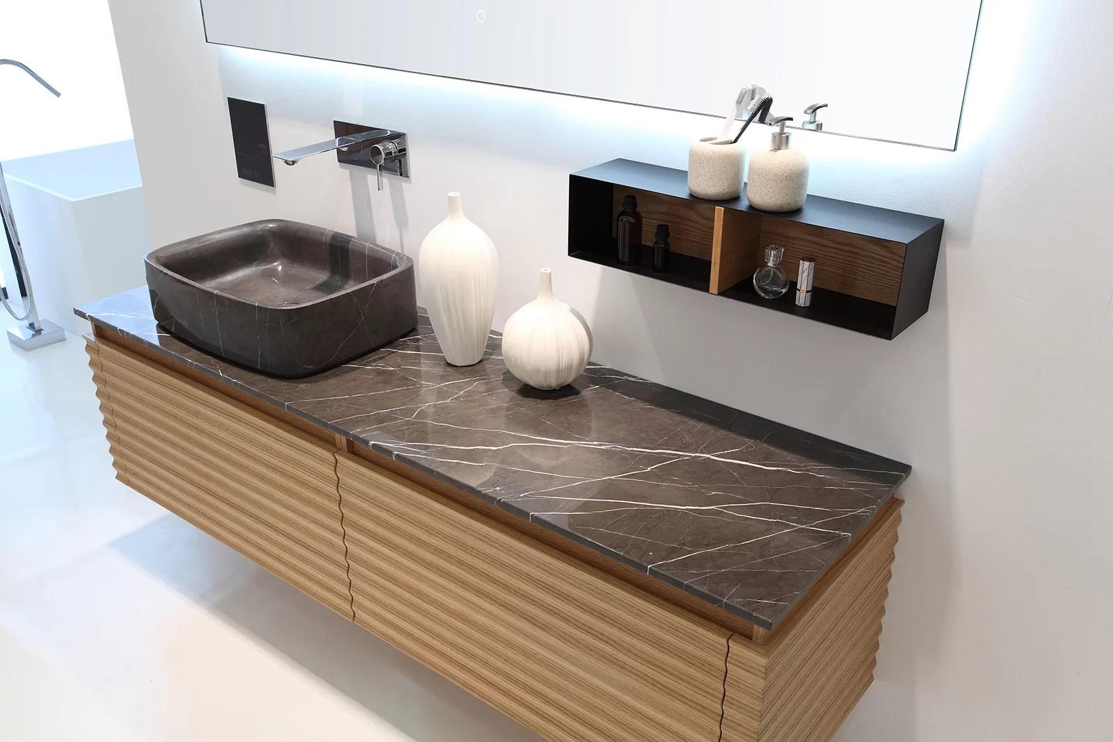 Orren Ellis Rushmore Maple Modern 60 Wall Mounted Single Bathroom Vanity Set Wayfair