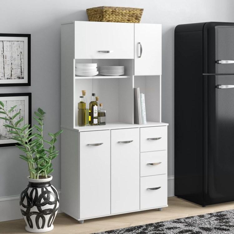 Latitude Run Blanken 66 Kitchen Pantry Reviews Wayfair